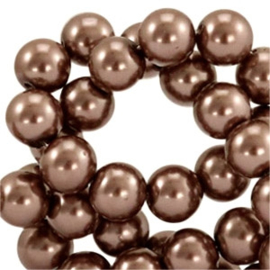 Glasparel Chocolate Brown 12mm (Per streng)