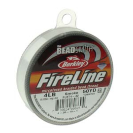 Fireline 0,12mm rol 45 meter SMOKE GREY