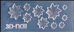 Mini Mal Sterblaadjes Transparant