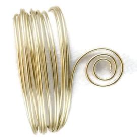 AluDeco Wire 2mm Pearl Round (5m)