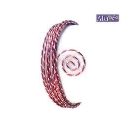 AluDeco Wire 2mm Red Diamond Cut (5m)