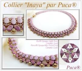 """Gratis """"Collier Inaya"""" Patroon bij aankoop van 2 zakjes PAR PUCA® kralen"""