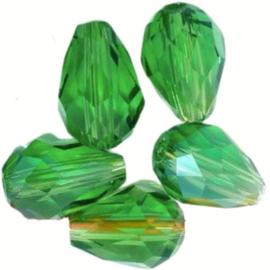Druppel Groen 11x8mm