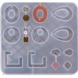 Mal met diverse vormen met pinnetjes voor gaatjes 002