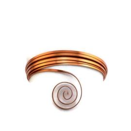 AluDeco PLAT Wire 5mm Orange Copper (5m)