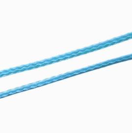 Koreaans Polyester Waxkoord Aqua Blauw 0,5mm