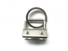 Klem met sleutelhanger ring
