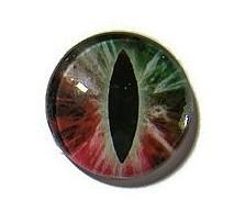 Dragon Eye 022, 25mm Glas Cabochon Rond