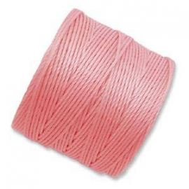 S-LON BEAD CORD (BUBBLEGUM) LIGHT PINK