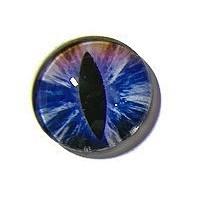 Dragon Eye 015, 25mm Glas Cabochon Rond