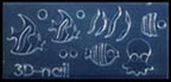 Mini Mal Visjes en Inktvis Transparant