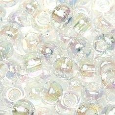 06-250 Miyuki Transparant AB Crystal 6/0