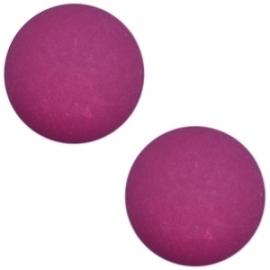 Cabochon Polaris matt 12mm Ruby purple