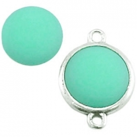 Cabochon Polaris matt 20 mm Erinite green