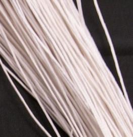 Waxkoord Wit 1,5mm