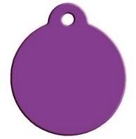 Rond Purple aluminium