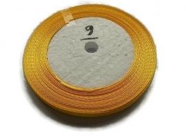No.9 Marigold Satijnlint 6mm (per rol)