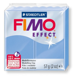 Fimo Effect  Edelsteen Agaat Blauw No.386