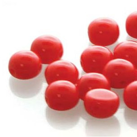 Candy Bead  Preciosa Red 8mm