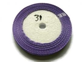 No.31 Paars Satijnlint 6mm (per rol)