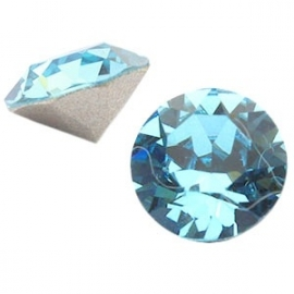 Swarovski Elements SS29 puntsteen (6.2mm) Aquamarine Blue