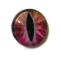 Dragon Eye 020, 25mm Glas Cabochon Rond