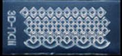Mini Mal Patroontje 1 Transparant