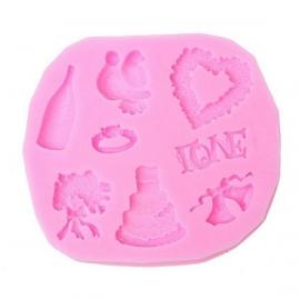 Mal Liefde/ Trouwen siliconen