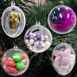 Dag 3 Materialenpakketje kerstballen om op te vullen 12 days of Christmas