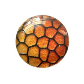 Dragon Skin 013, 25mm Glas Cabochon Rond