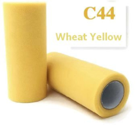 Tule Wheat Yellow 15cm breed  rol 22 meter C44