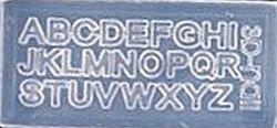 Mini Mal Alfabet Transparant