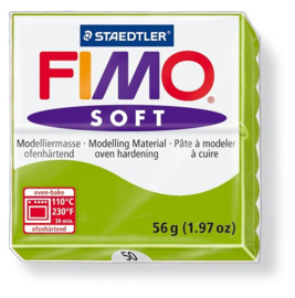 Fimo Klei Soft Appel Groen No.50
