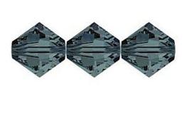 Swarovski kralen Bicone 4mm Graphite (10st.)