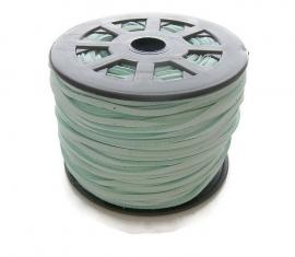 Faux Suede Mint Groen 3mm