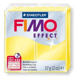 Fimo Effect  Transparant Geel No.104