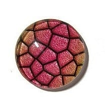 Dragon Skin 010, 25mm Glas Cabochon Rond
