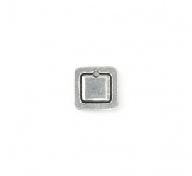 Square Border Small Pewter