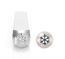 Design stempel Snowflake Large  6mm ImpressArt