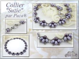 """Gratis """"Suzie Collier"""" Patroon bij aankoop van 2 zakjes PAR PUCA® kralen"""