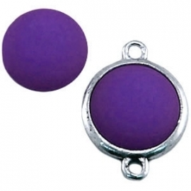 Cabochon Polaris matt 15 mm Purple
