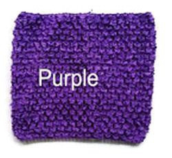 Gehaakte Top Purple  S  (maat 50 t/m 80)