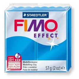 Fimo Effect  Transparant Blauw  No.374