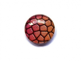 Dragon Skin 008, 25mm Glas Cabochon Rond