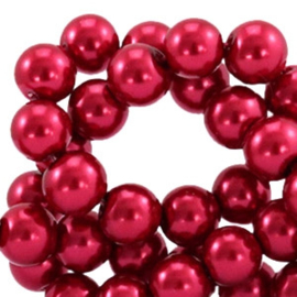 Glasparel Aubergine Red 10mm (Per streng)