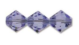 Swarovski kralen Bicone 4mm Provence Lavender (10st.)