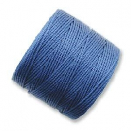 S-LON BEAD CORD (BLUE LAGOON) BLUE