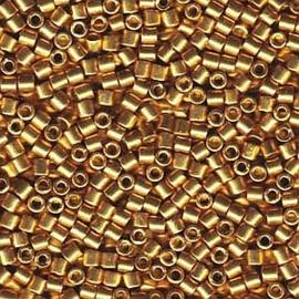 DBM-1832 Miyuki Delica duracoat galvanized Gold 10/0