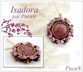 """Gratis """"Hanger en Ring Isadora"""" Patroon bij aankoop van 2 zakjes PAR PUCA® kralen"""