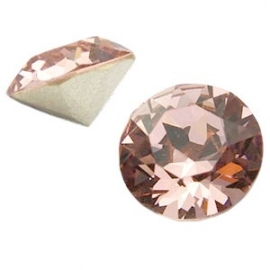 Swarovski Elements SS29 puntsteen (6.2mm) Vintage Rose